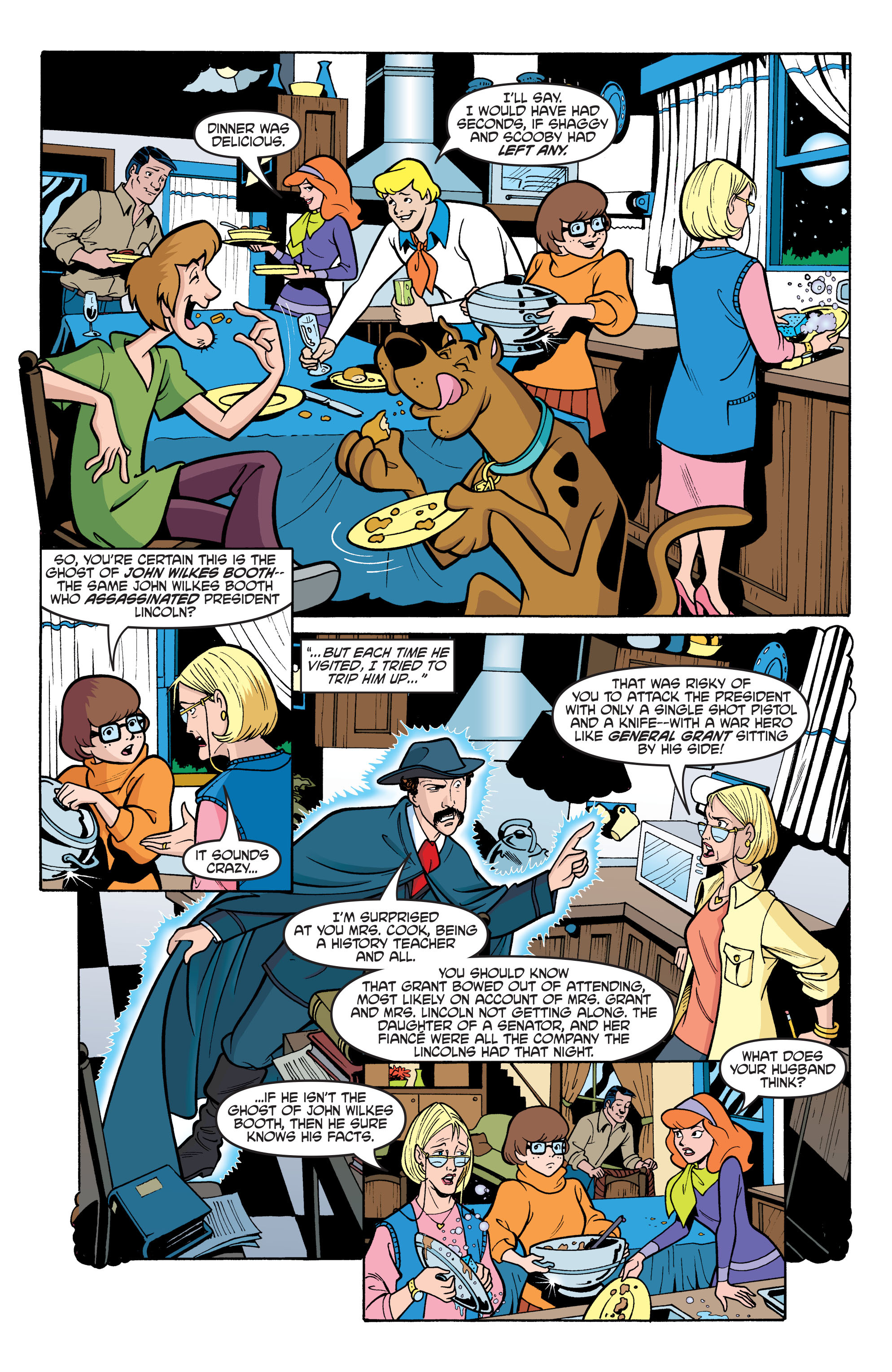 Read online Scooby-Doo: Where Are You? comic -  Issue #61 - 16