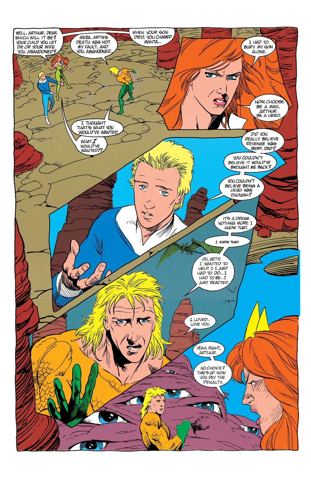 Aquaman (1991) Issue #7 #7 - English 16
