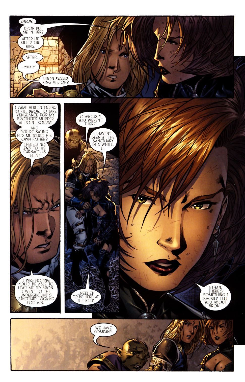 Read online Scion comic -  Issue #13 - 7