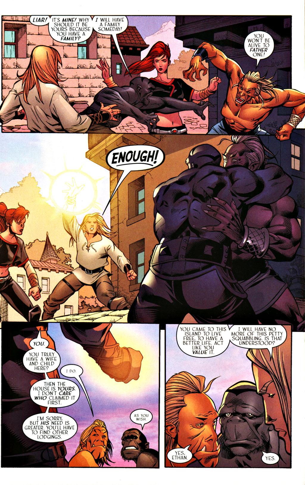 Read online Scion comic -  Issue #28 - 10