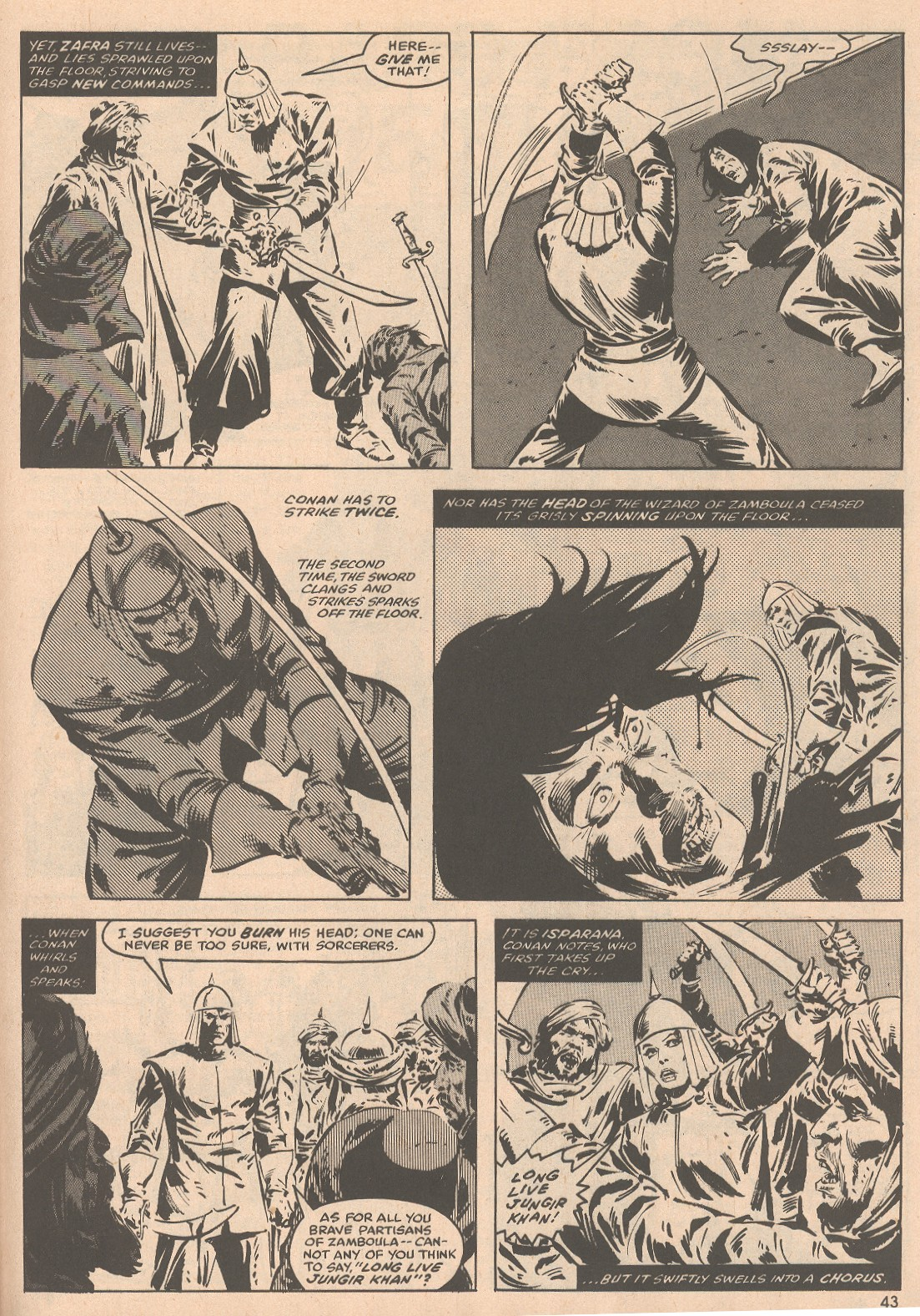 The Savage Sword Of Conan Issue #58 #59 - English 44