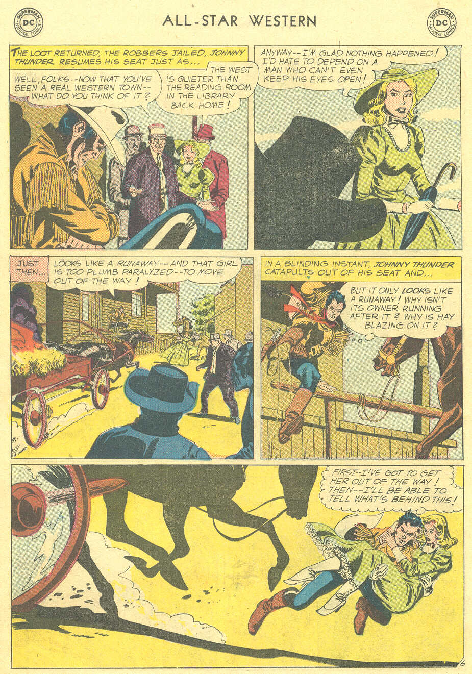 Read online All-Star Western (1951) comic -  Issue #105 - 30