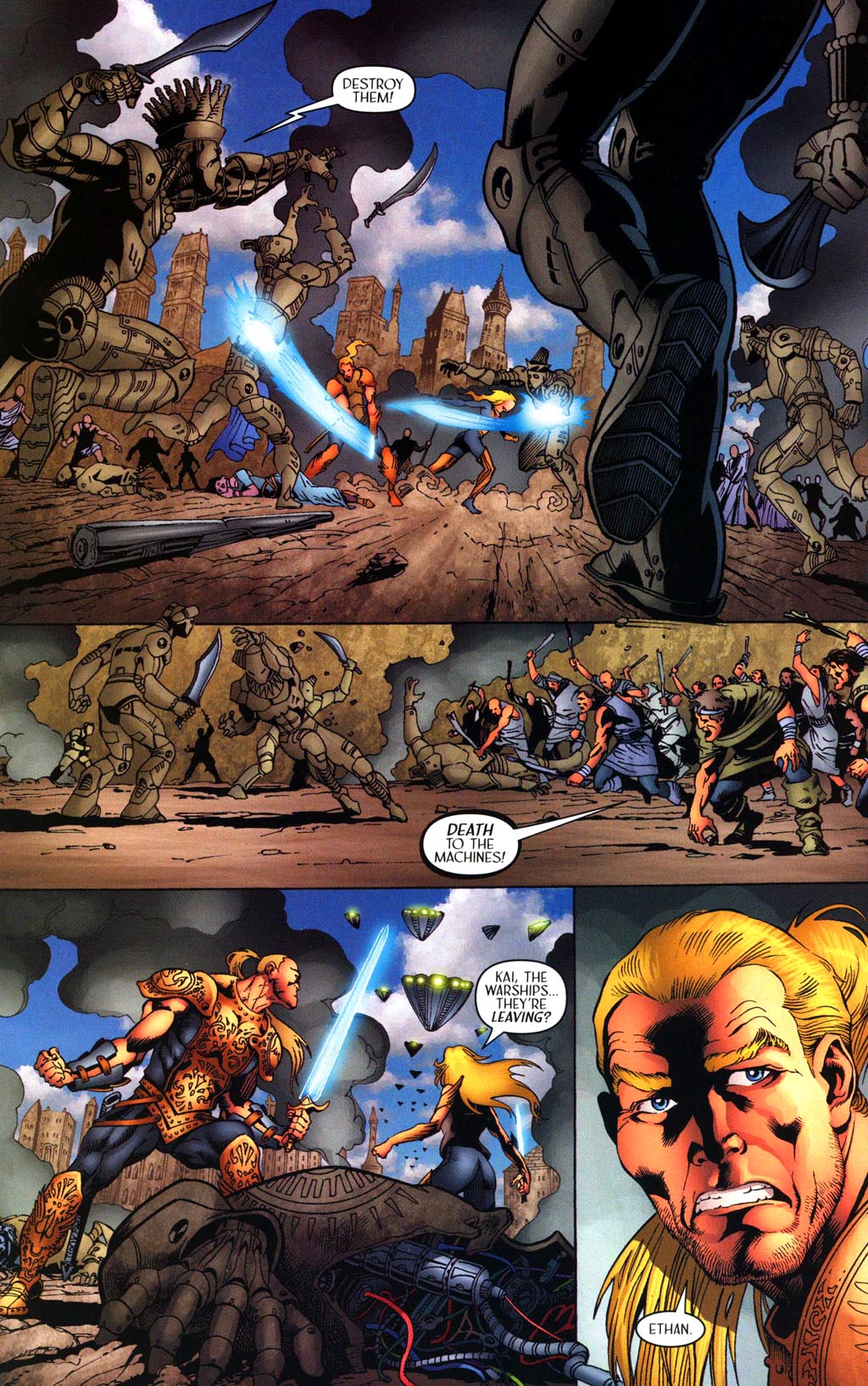 Read online Scion comic -  Issue #43 - 20