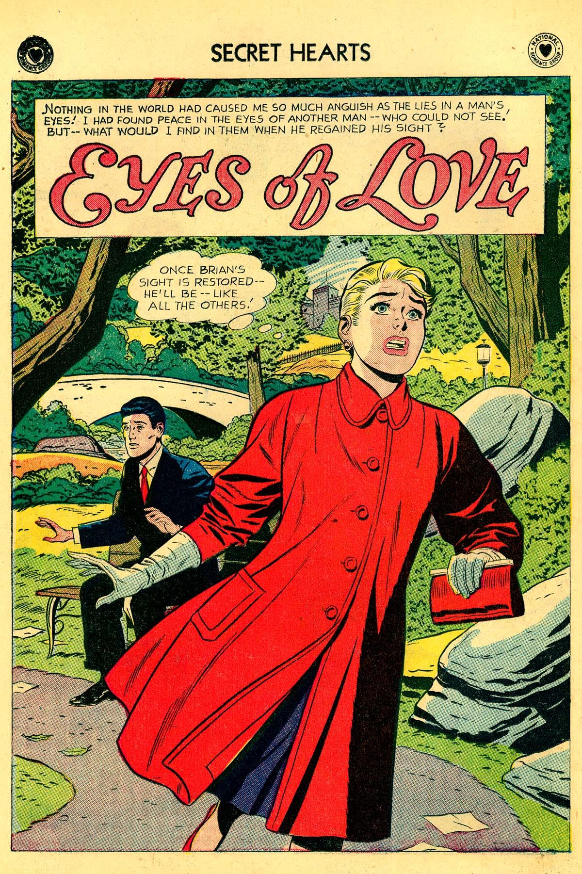 Read online Secret Hearts comic -  Issue #54 - 10