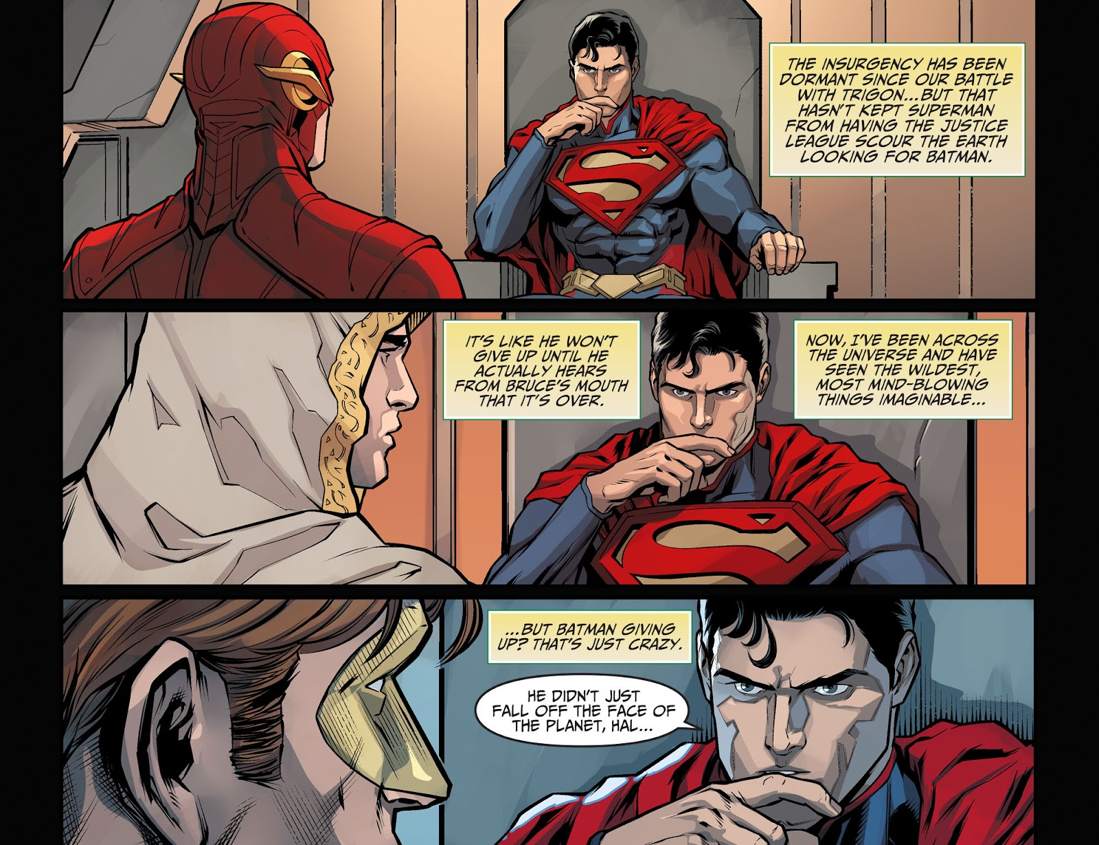 Injustice: Gods Among Us Year Four Issue #1 #2 - English 8