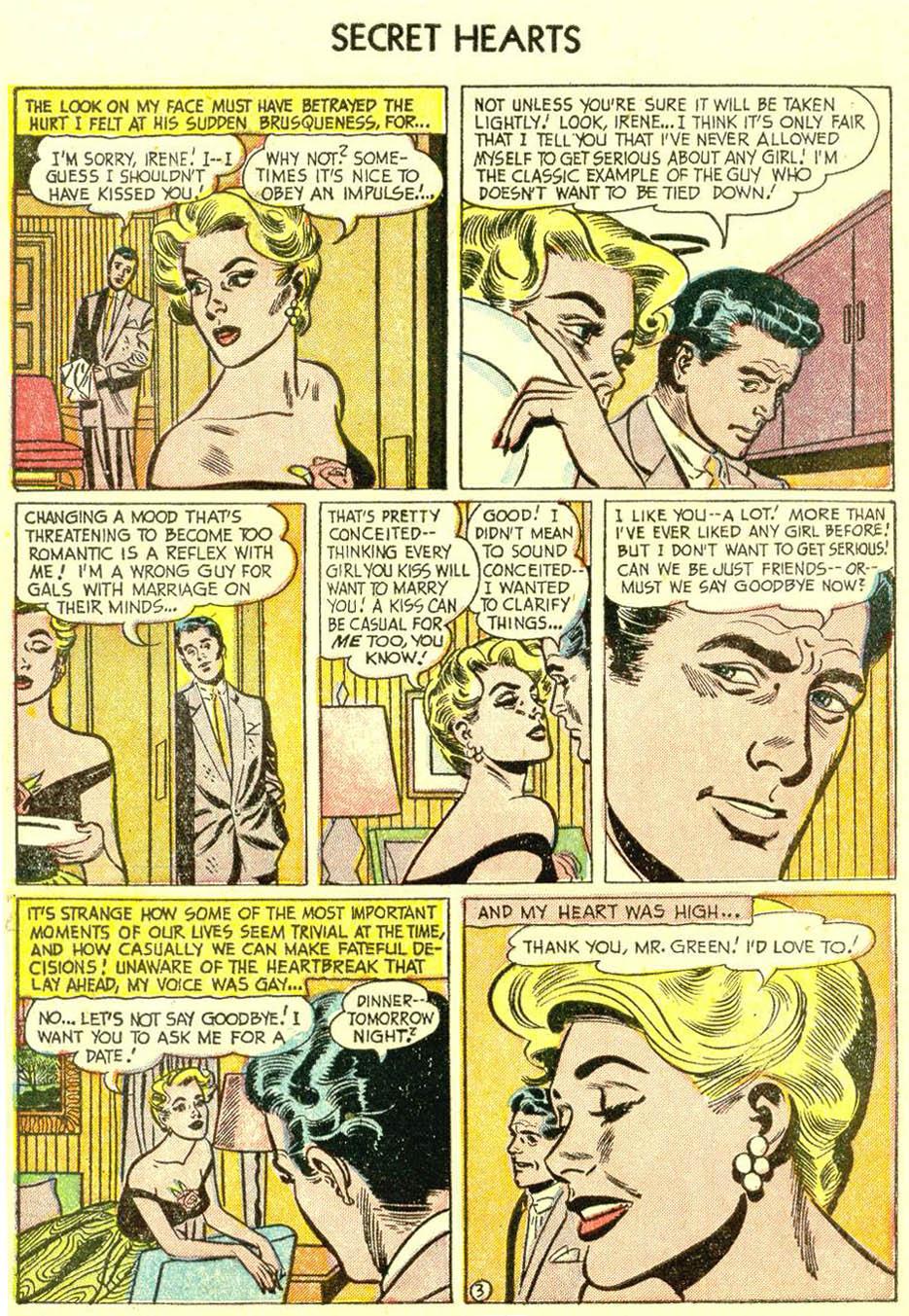 Read online Secret Hearts comic -  Issue #21 - 5