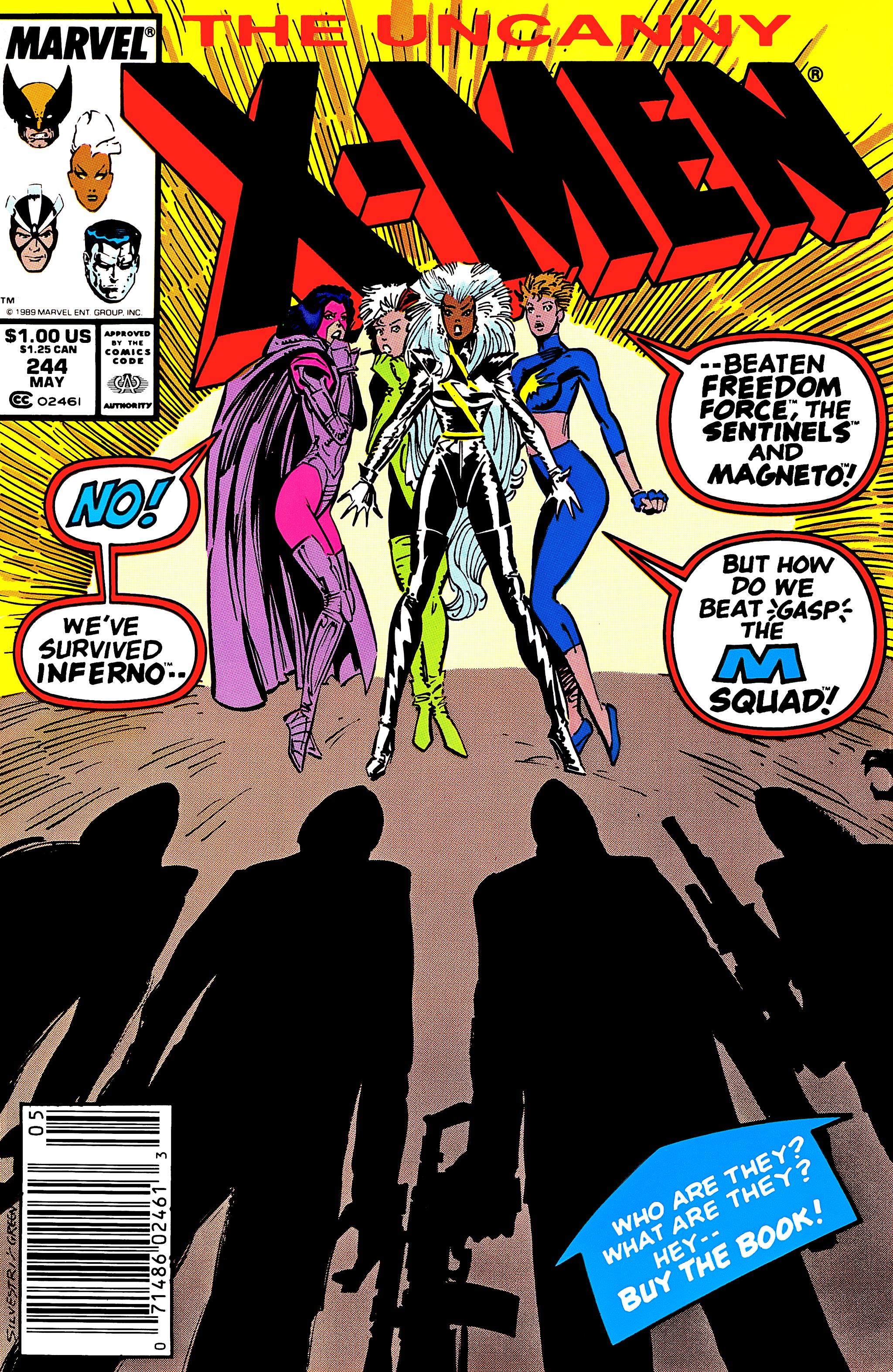 Uncanny X-Men (1963) 244 Page 1