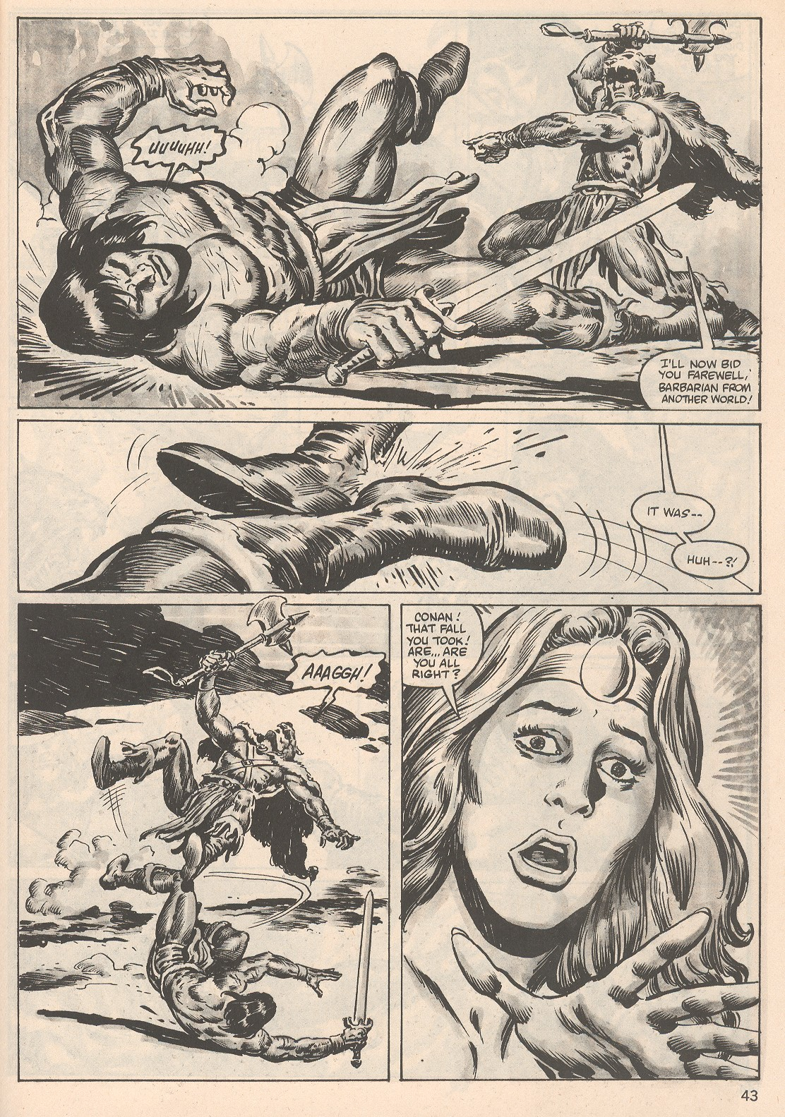 The Savage Sword Of Conan Issue #104 #105 - English 43