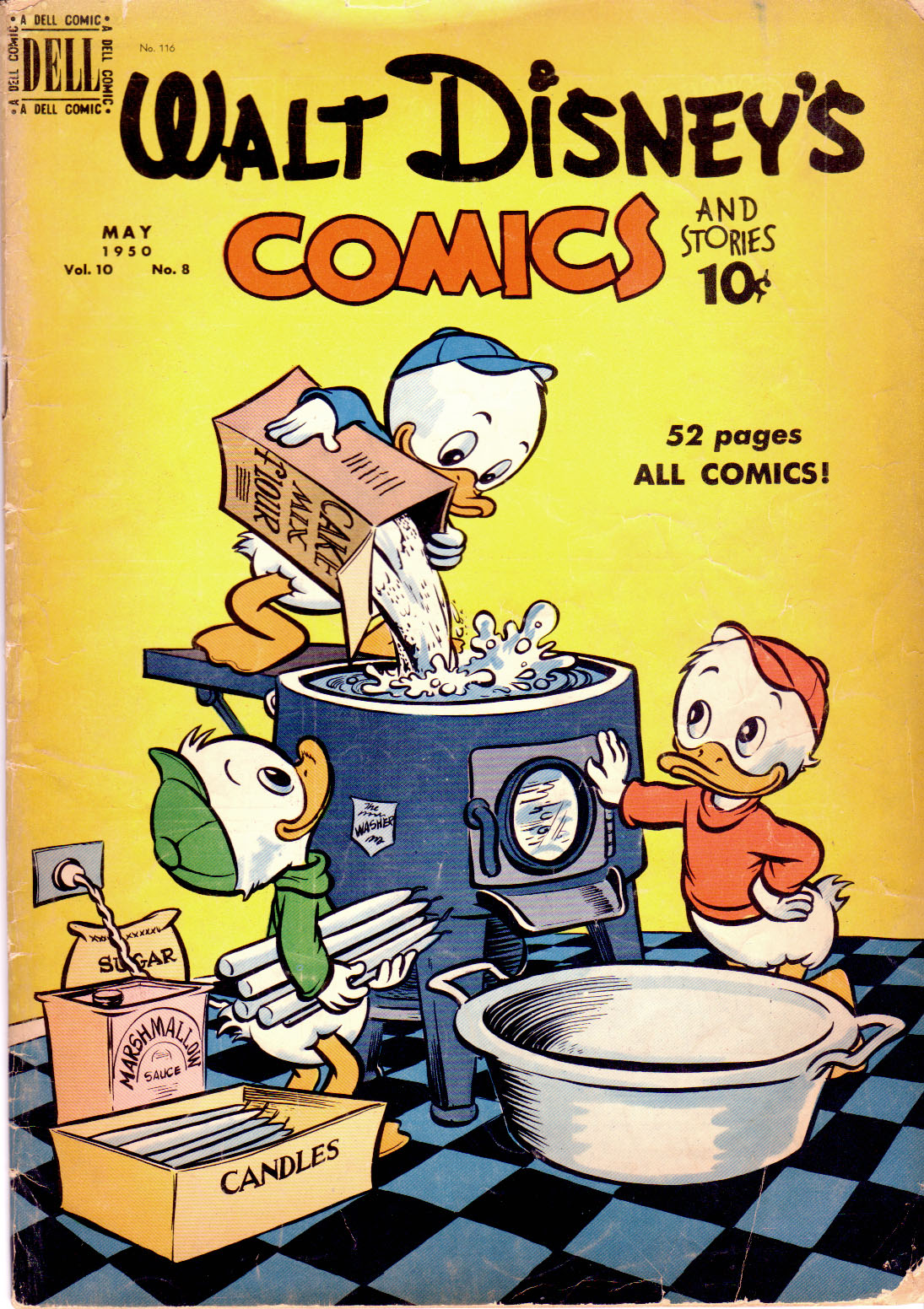 Walt Disneys Comics and Stories 116 Page 1