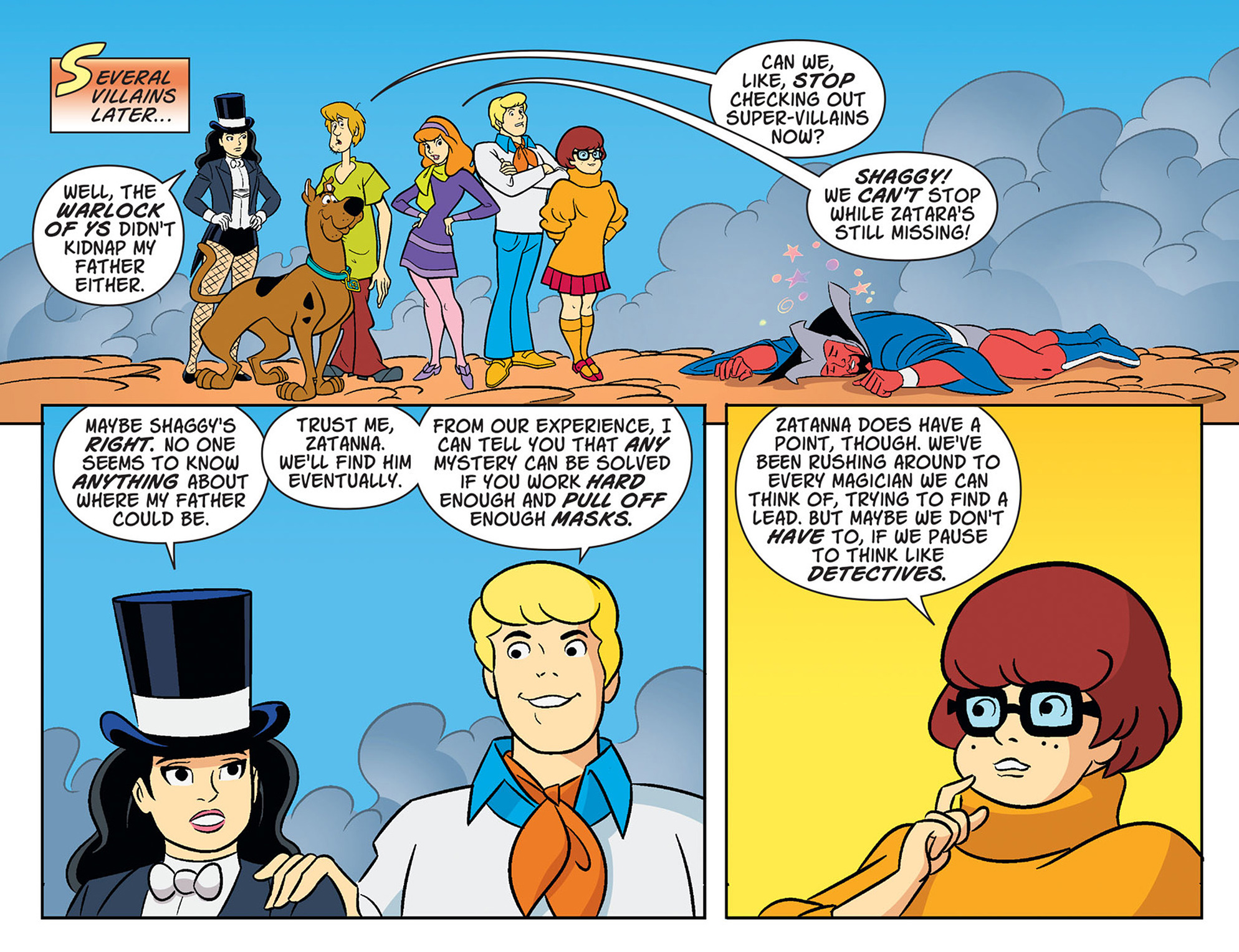 Read online Scooby-Doo! Team-Up comic -  Issue #38 - 8