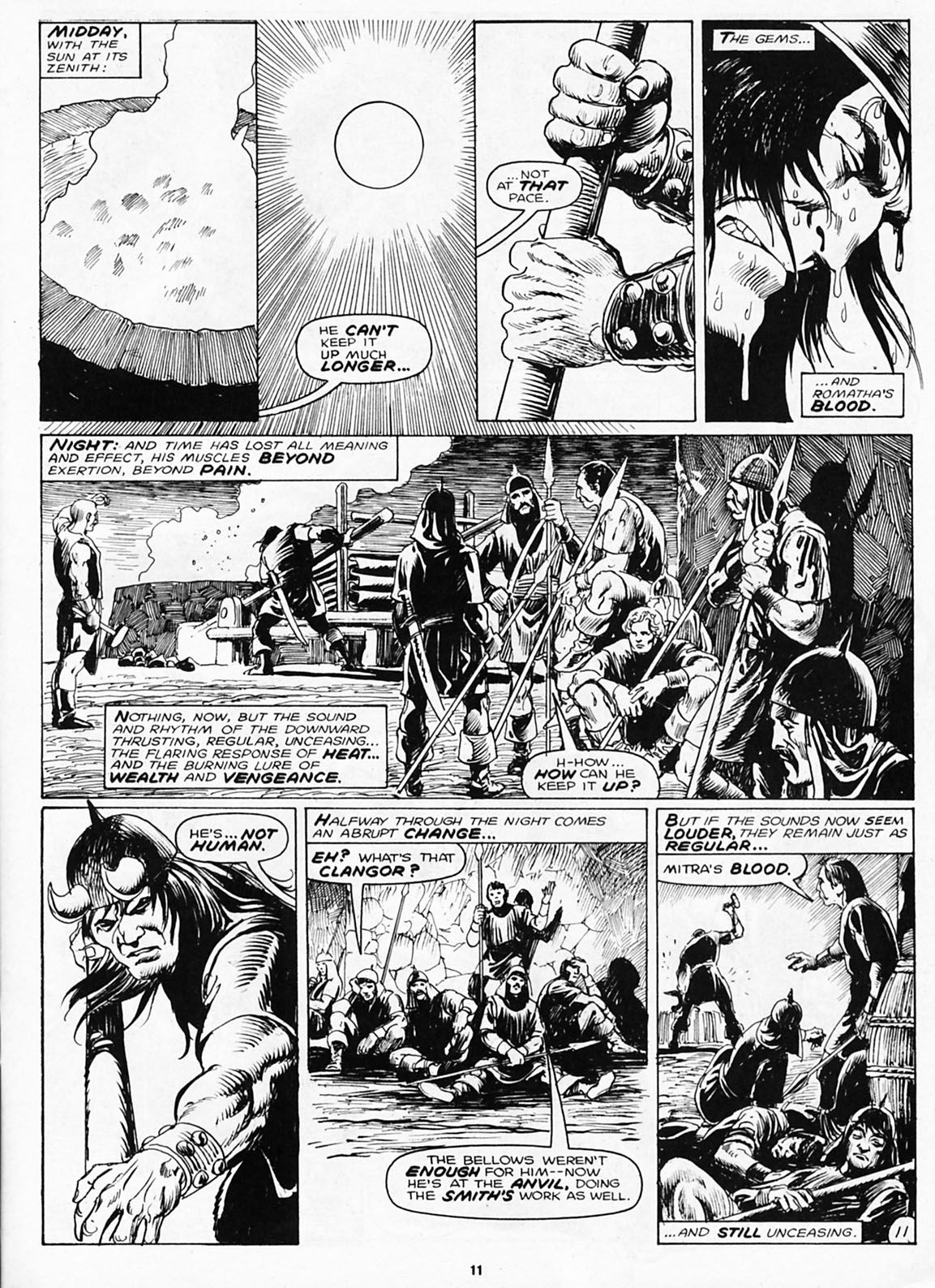 The Savage Sword Of Conan Issue #180 #181 - English 13