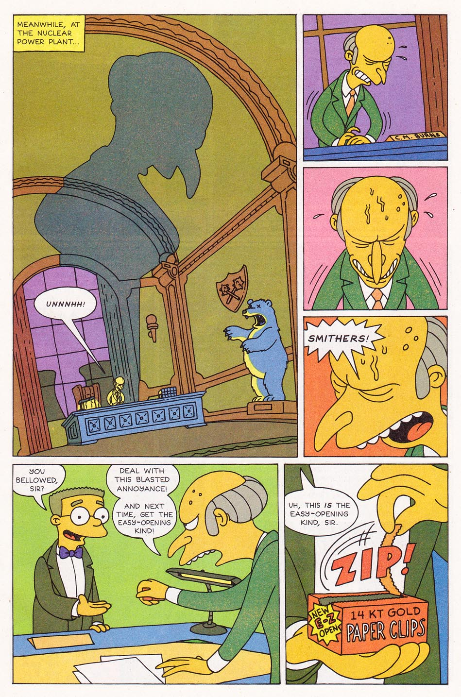 Read online Simpsons Comics comic -  Issue #1 - 5