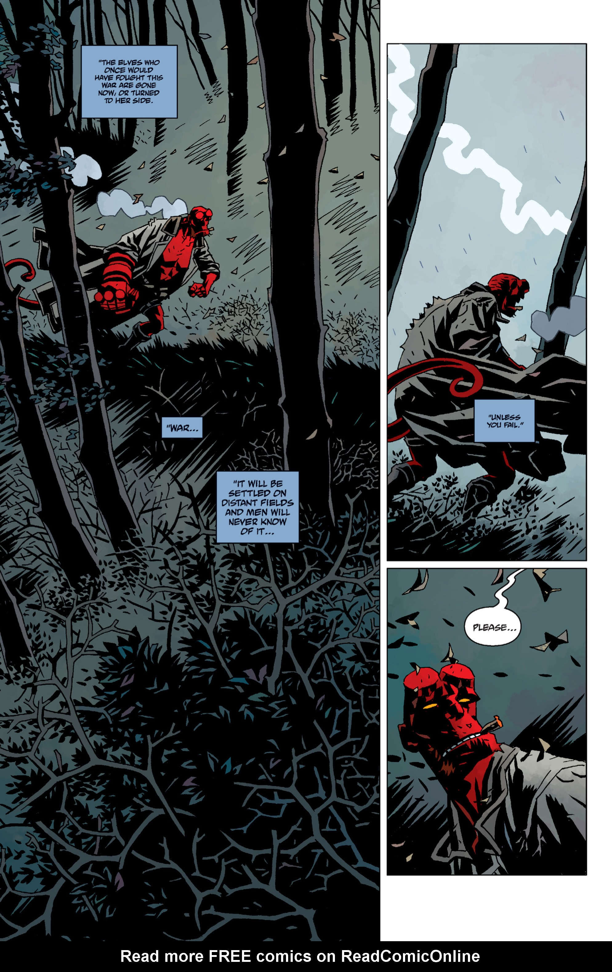 Hellboy chap 12 pic 69
