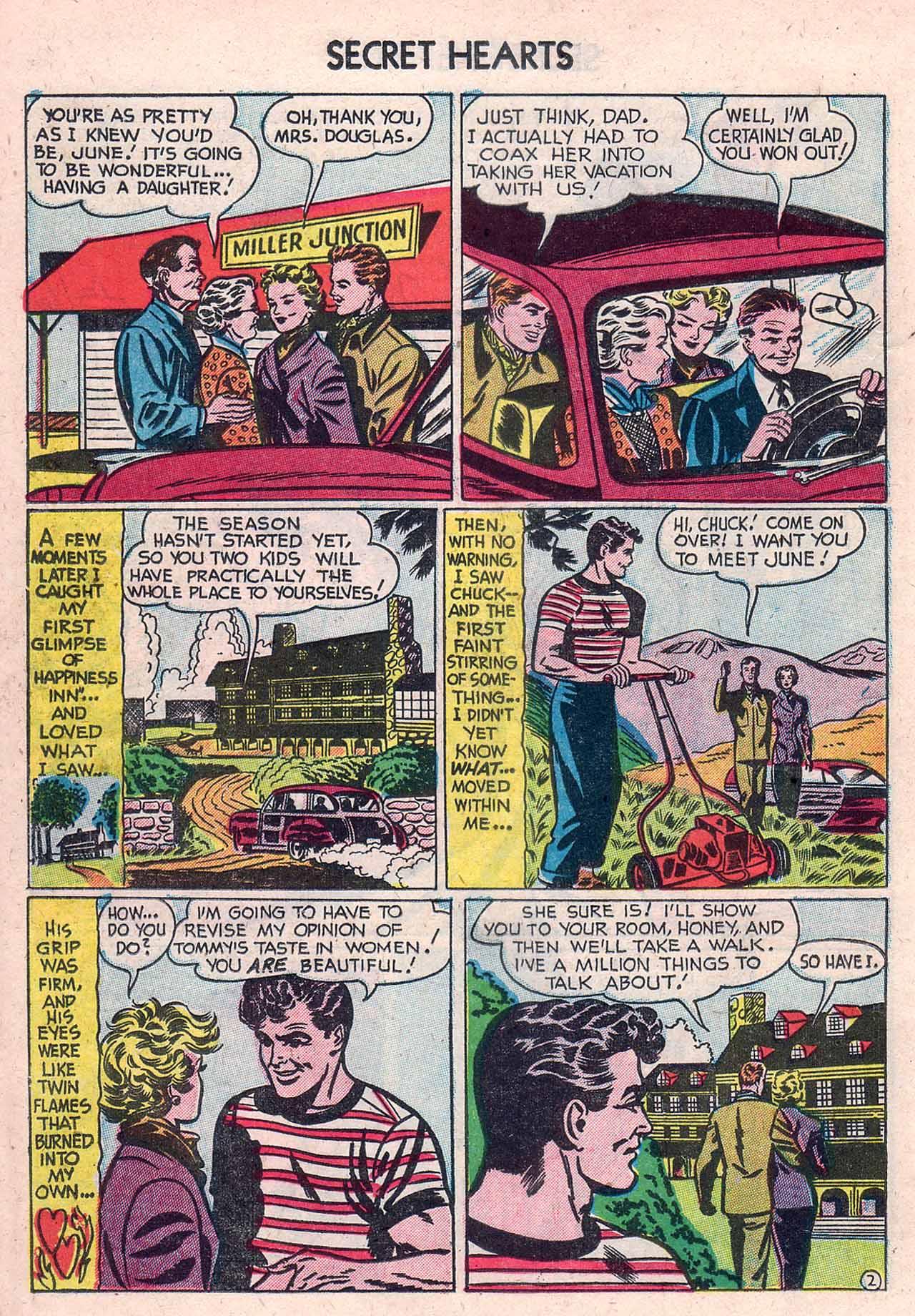 Read online Secret Hearts comic -  Issue #12 - 18