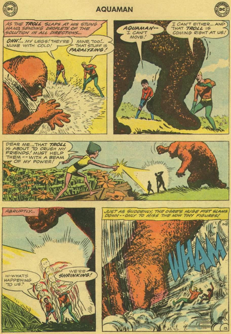 Read online Aquaman (1962) comic -  Issue #1 - 17