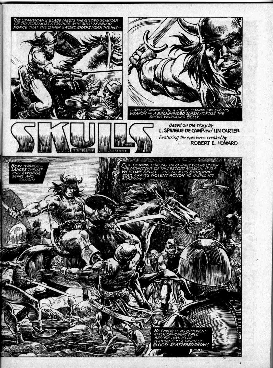 The Savage Sword Of Conan Issue #59 #60 - English 7