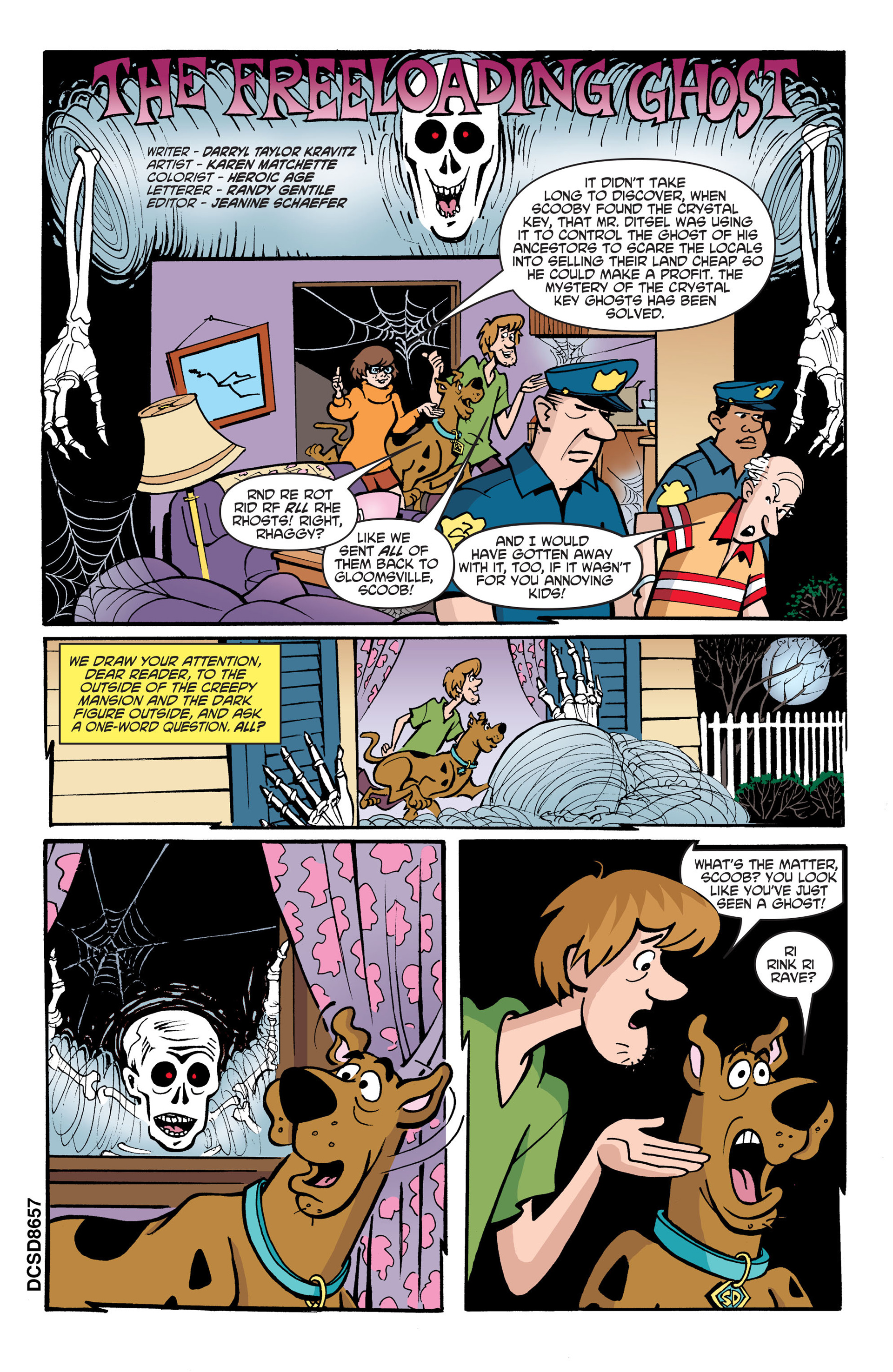 Read online Scooby-Doo: Where Are You? comic -  Issue #45 - 12