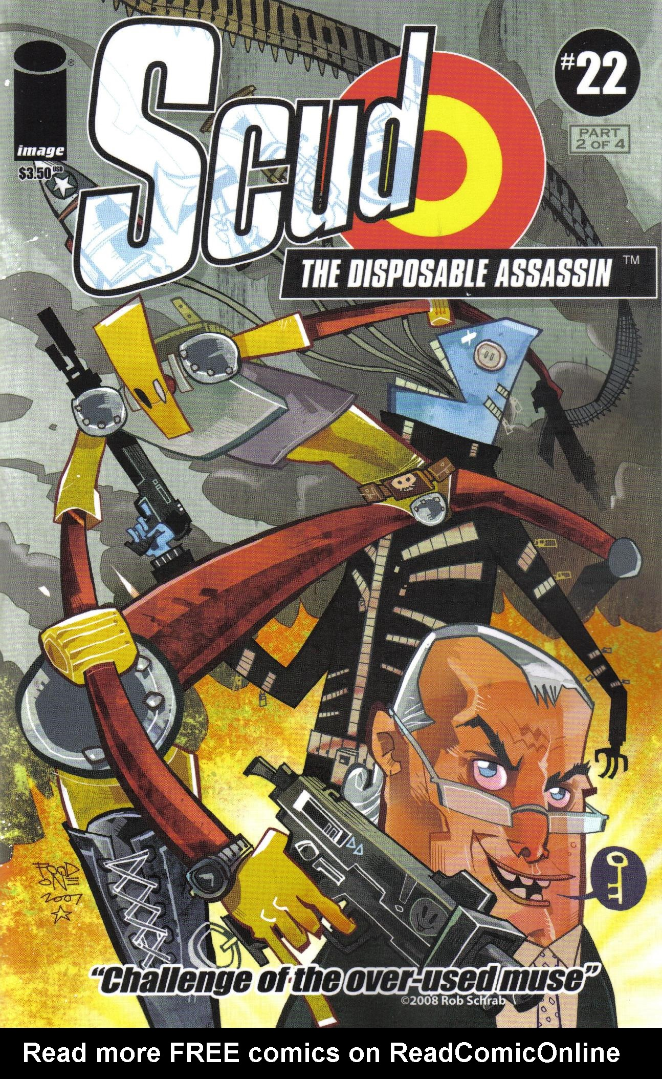Read online Scud: The Disposable Assassin (2008) comic -  Issue #2 - 1