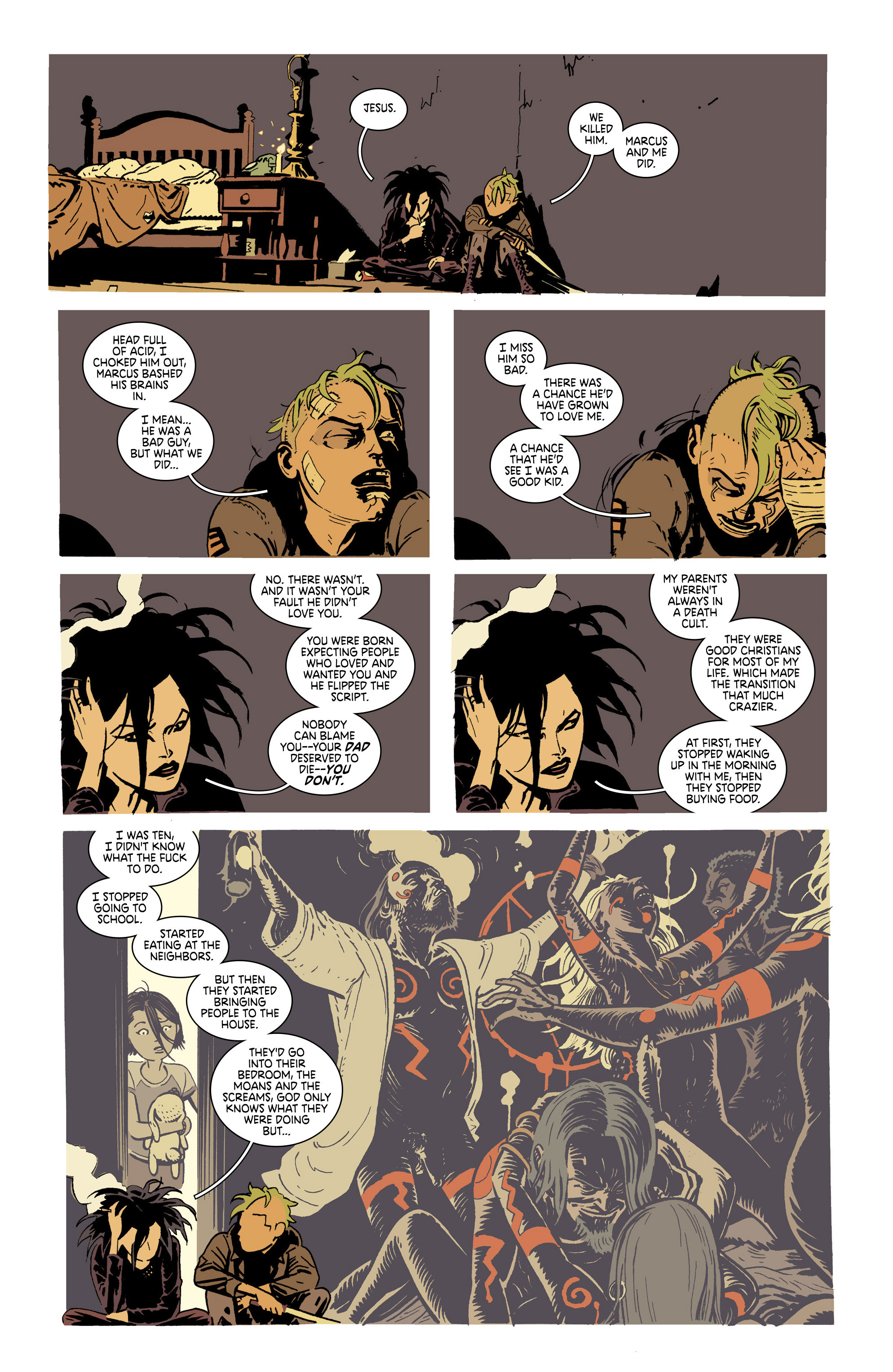 Read online Deadly Class comic -  Issue #21 - 5