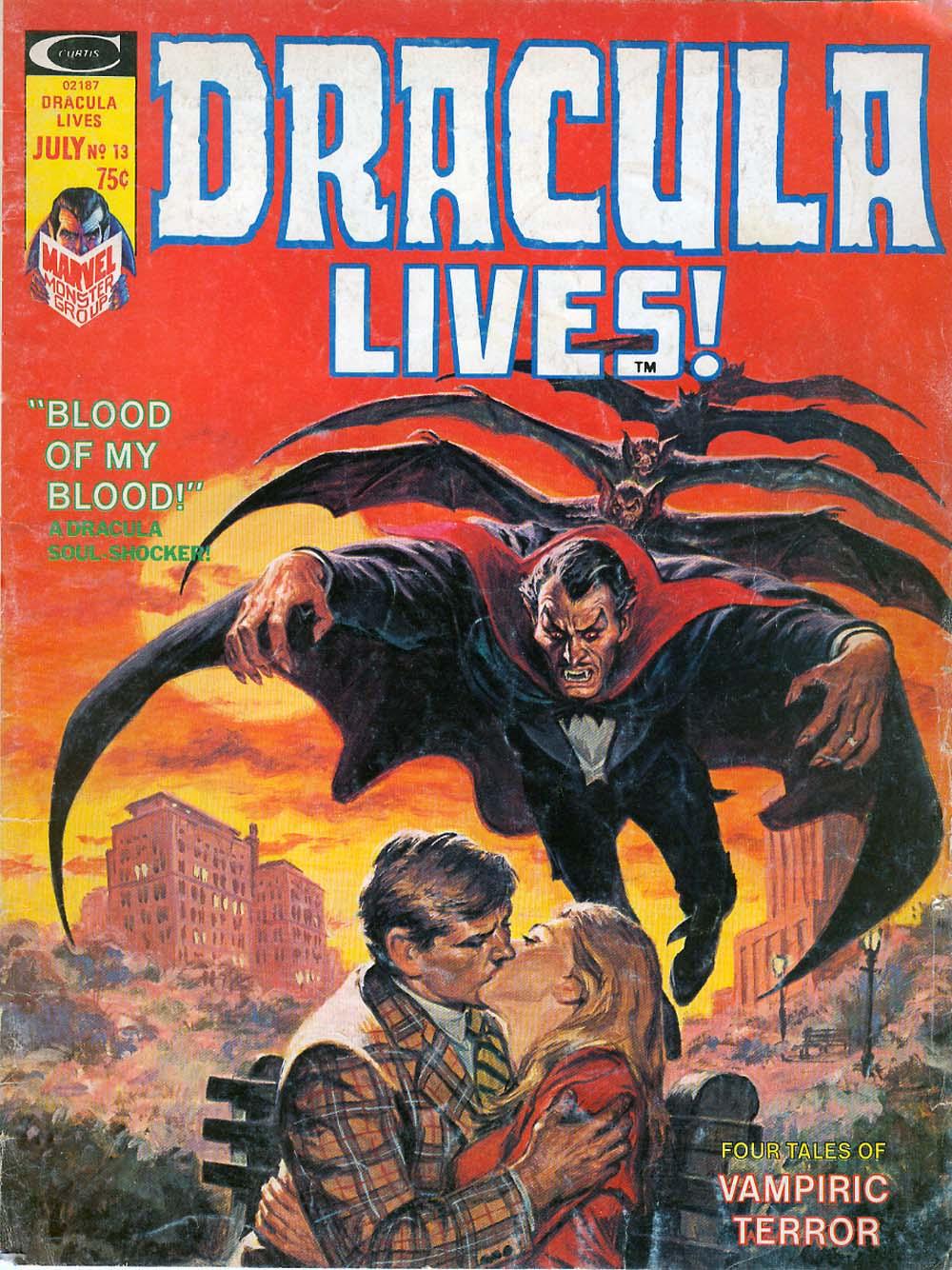 Dracula Lives 13 Page 1