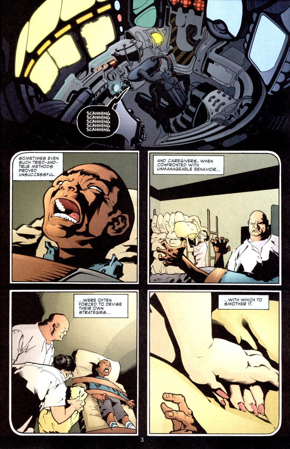 Aquaman (2003) Issue #8 #8 - English 4