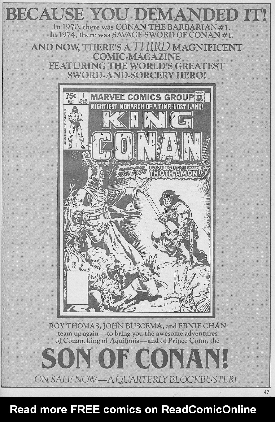 The Savage Sword Of Conan Issue #49 #50 - English 47