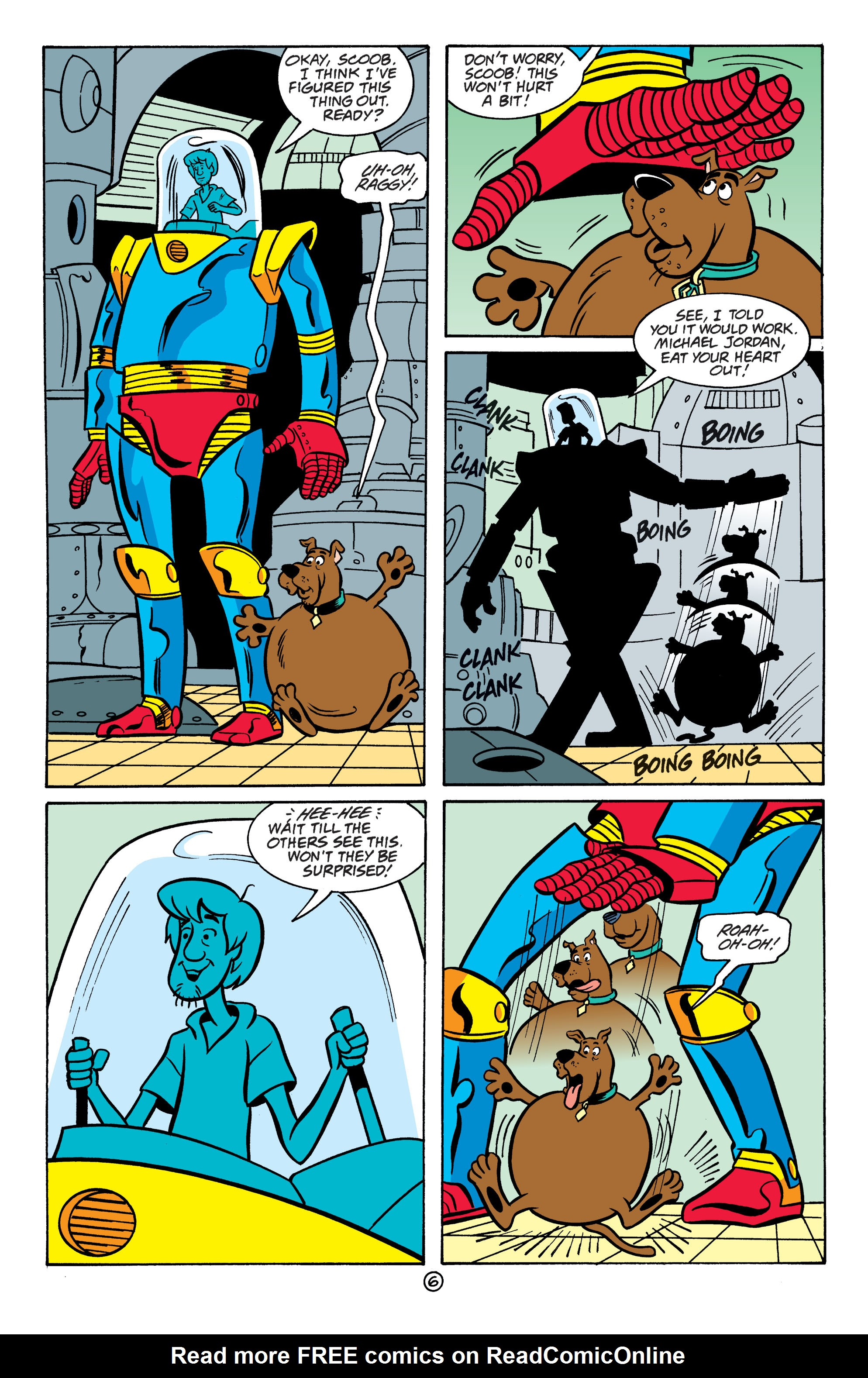 Read online Scooby-Doo: Where Are You? comic -  Issue #64 - 17