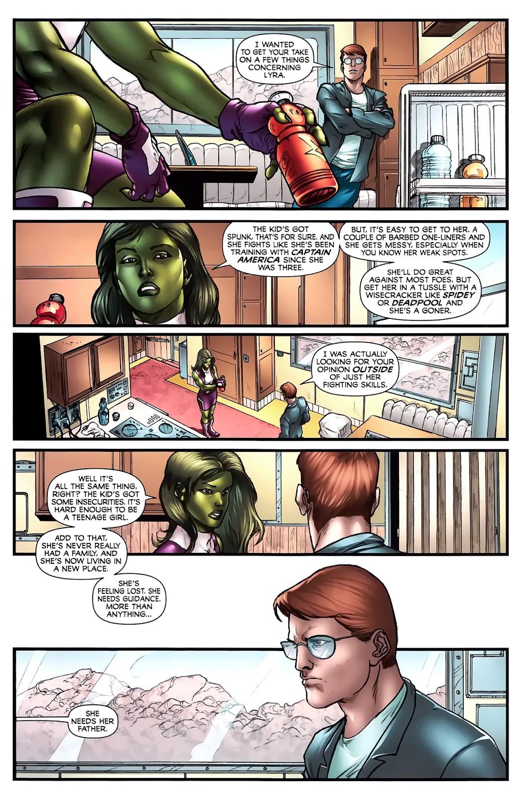 Incredible Hulks (2010) Issue #619 #9 - English 29