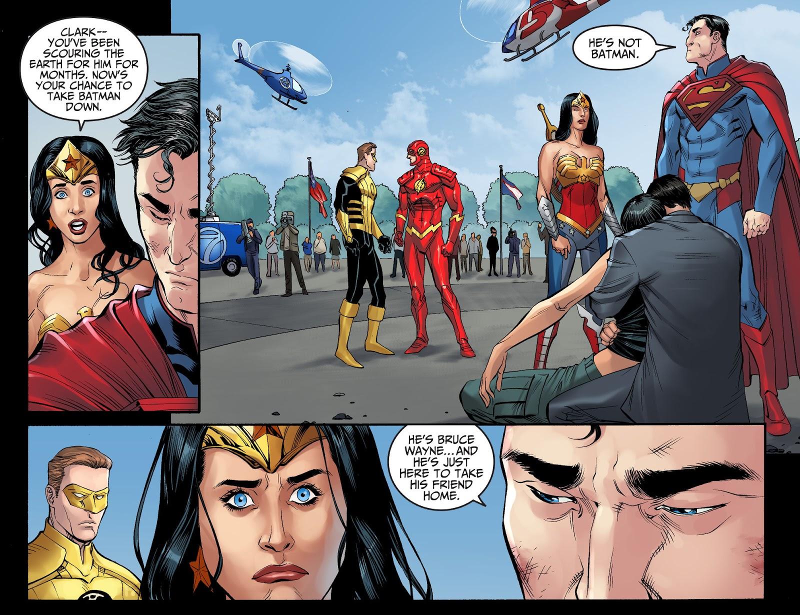 Injustice: Gods Among Us Year Four Issue #4 #5 - English 17