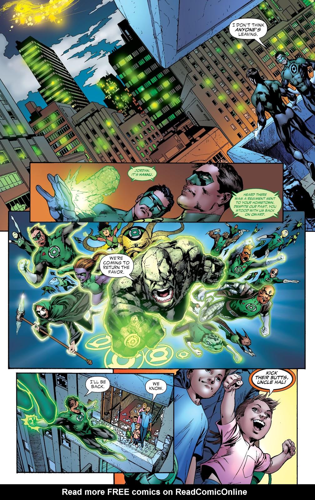 Green Lantern: The Sinestro Corps War Full #1 - English 256