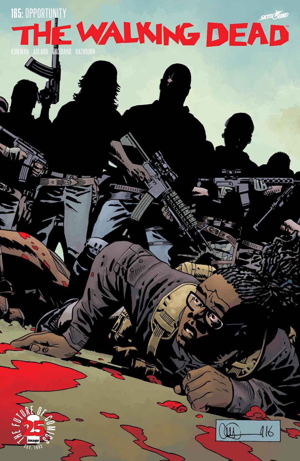 The Walking Dead Issue #165 Page 1
