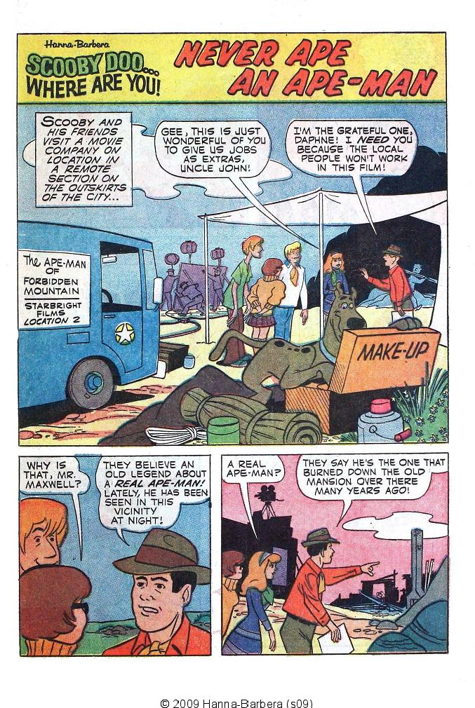 Read online Scooby-Doo... Where Are You! (1970) comic -  Issue #1 - 21
