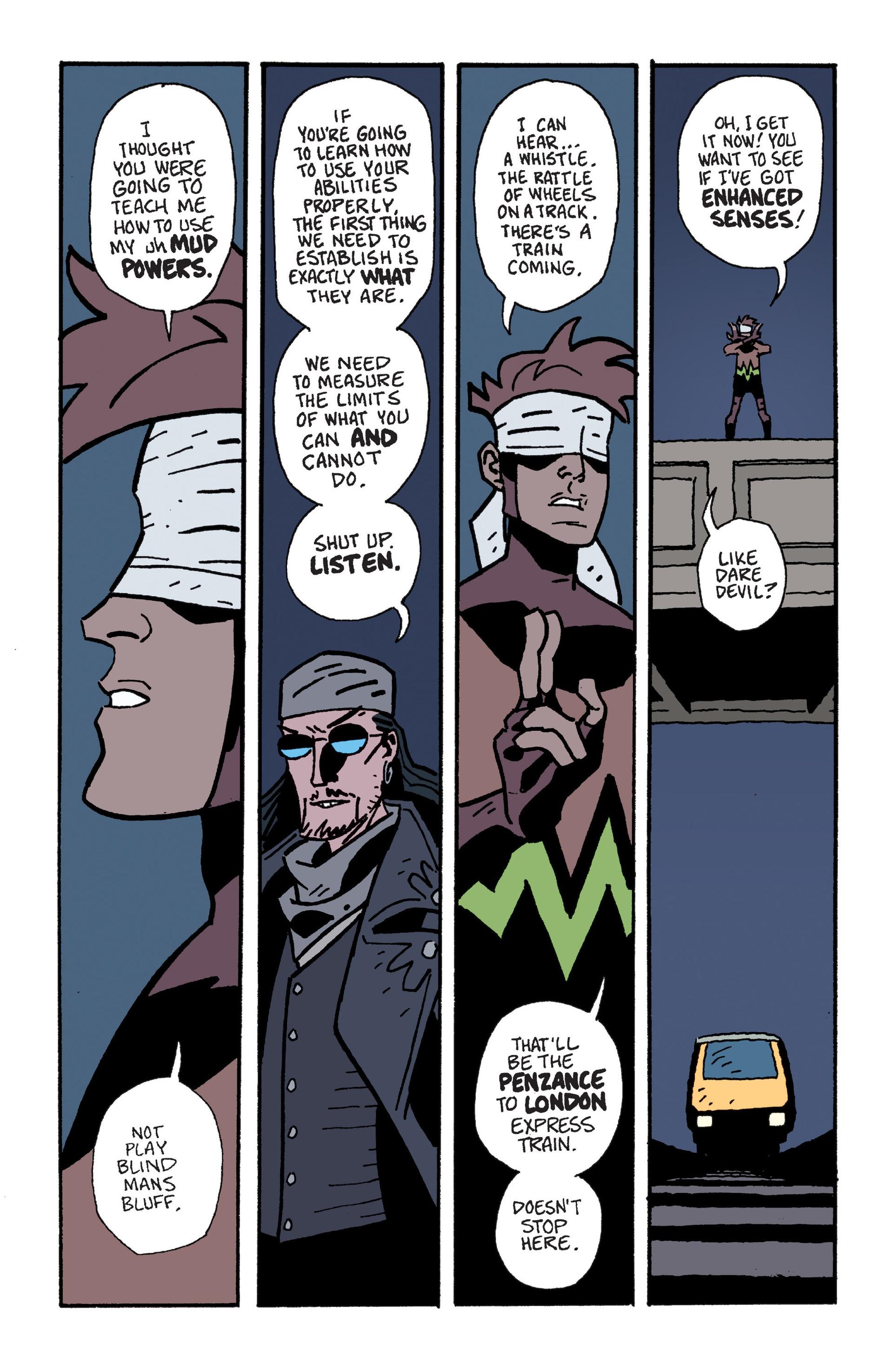 Mudman #6 #7 - English 4