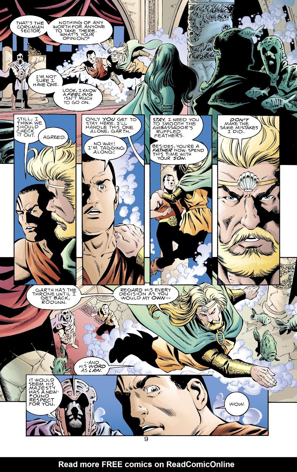 Aquaman (1994) Issue #71 #77 - English 10