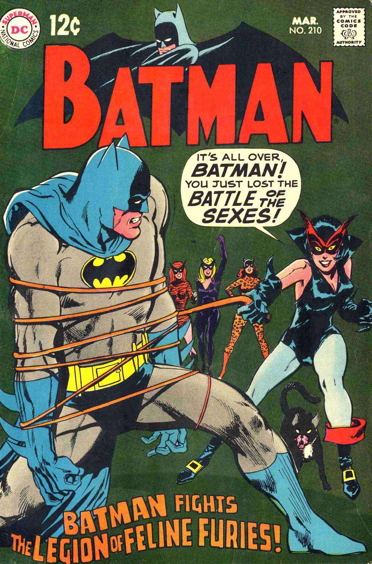 Batman (1940) 210 Page 1
