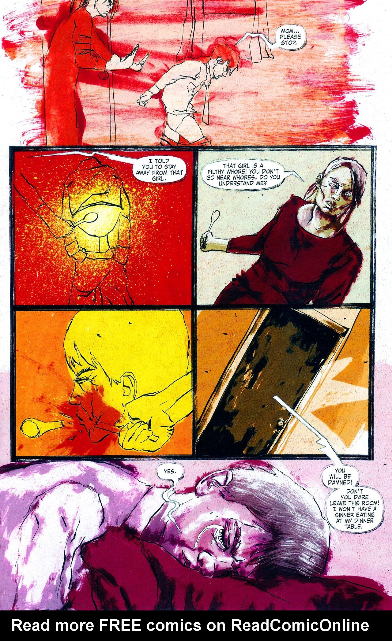 Read online Se7en comic -  Issue #4 - 15