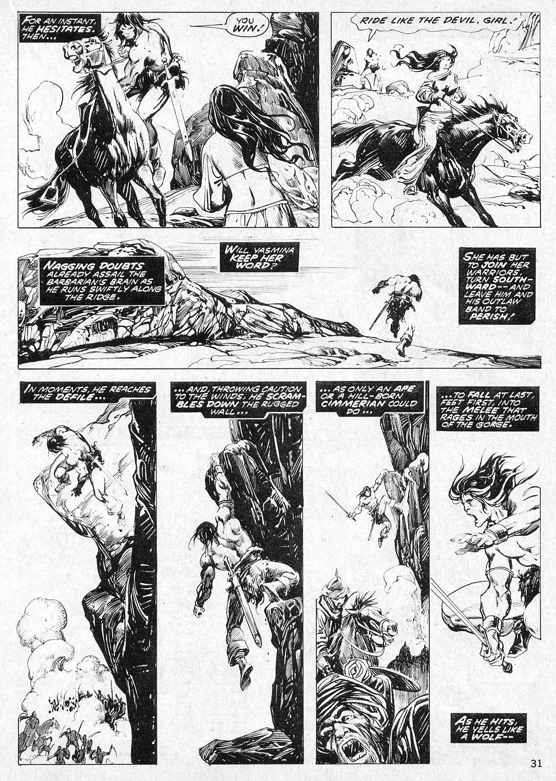 The Savage Sword Of Conan Issue #19 #20 - English 31