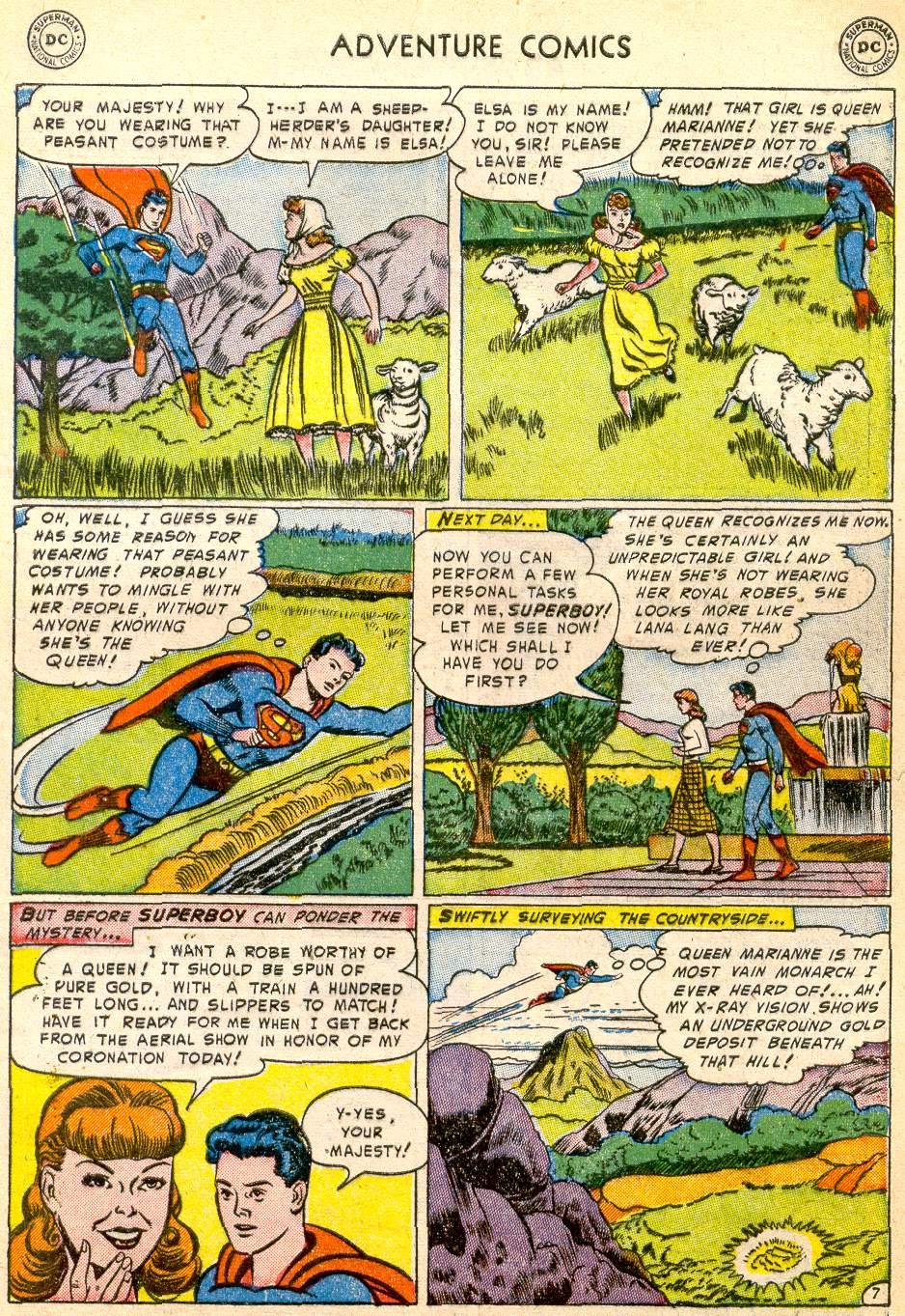 Read online Adventure Comics (1938) comic -  Issue #192 - 9