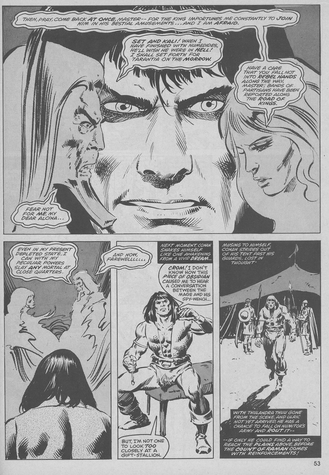 The Savage Sword Of Conan Issue #51 #52 - English 53