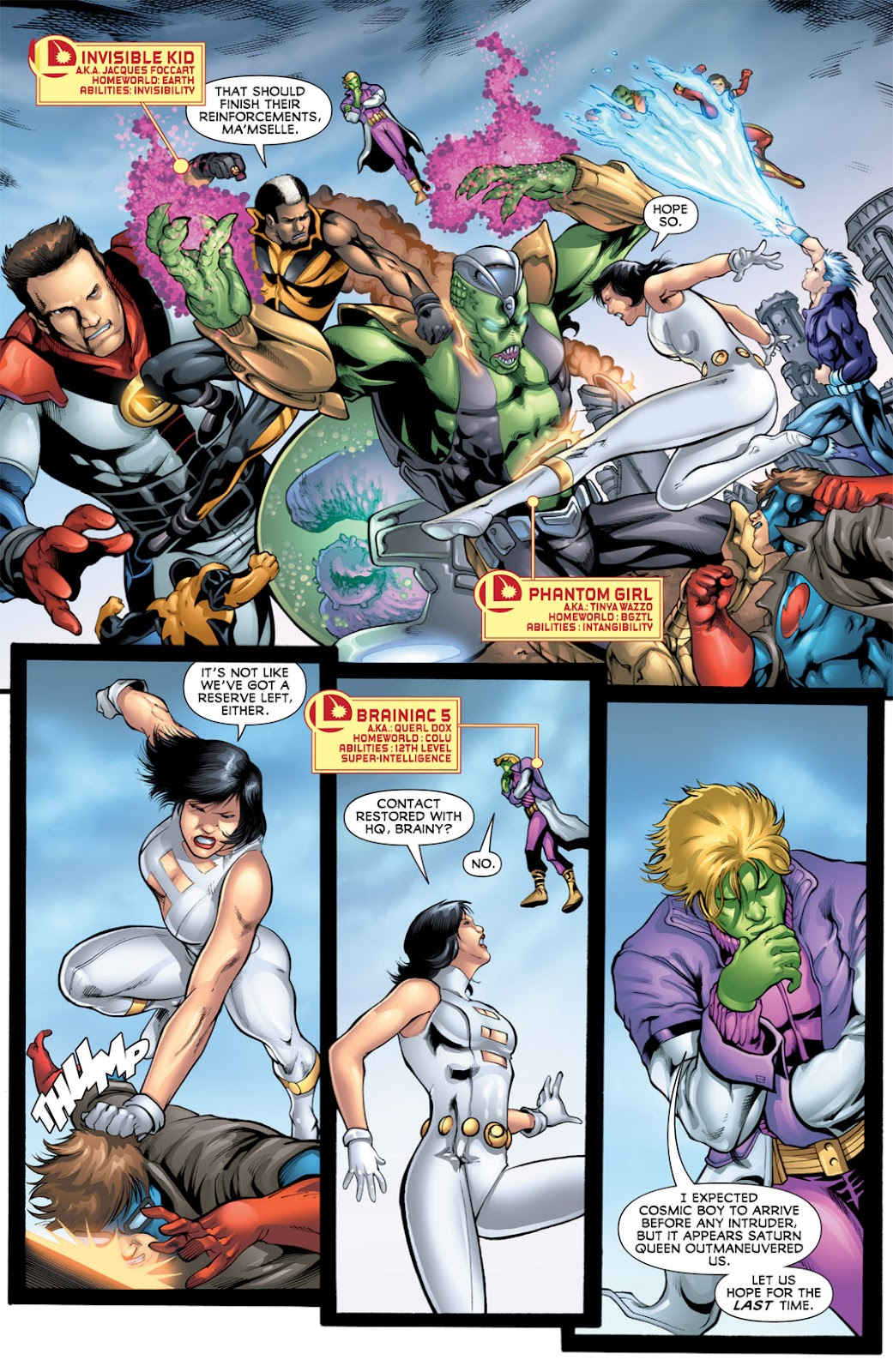 Legion of Super-Heroes (2010) Issue #16 #17 - English 6