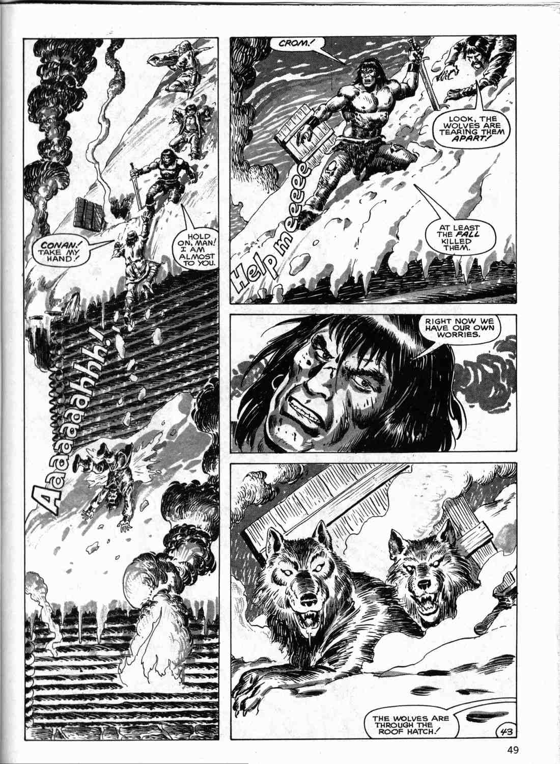 The Savage Sword Of Conan Issue #133 #134 - English 48