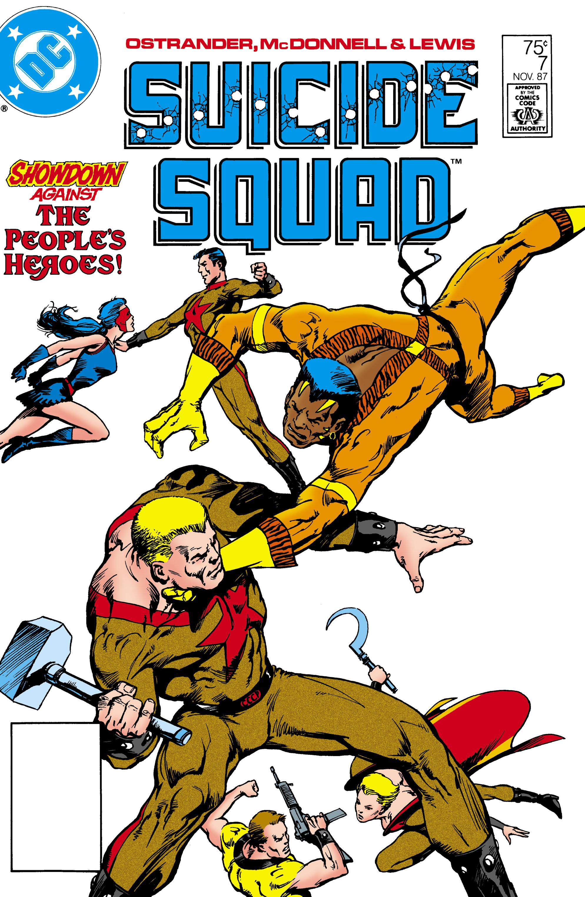 Suicide Squad (1987) 7 Page 1