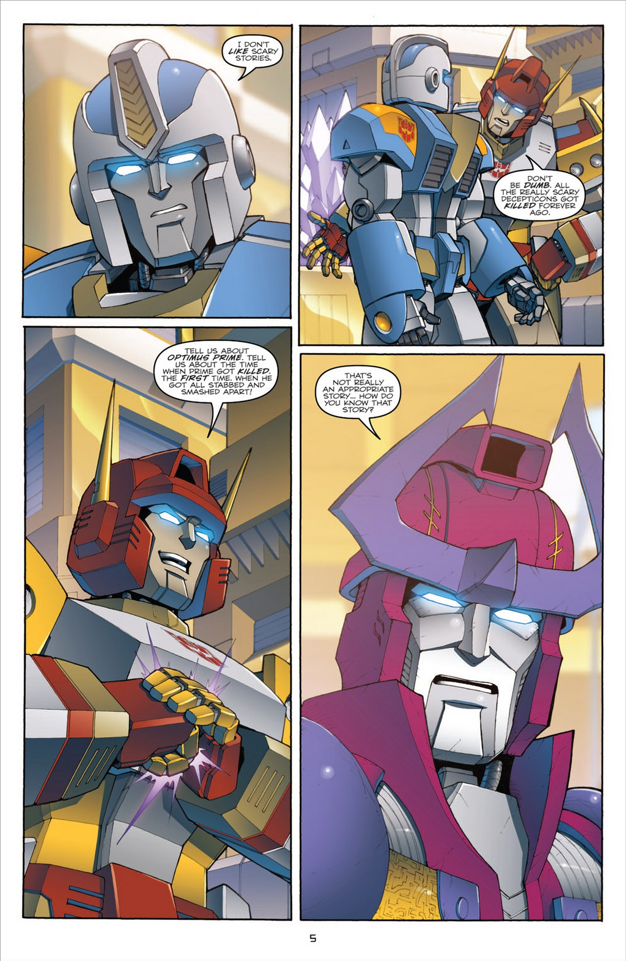 The Transformers (2009) chap 31 pic 9