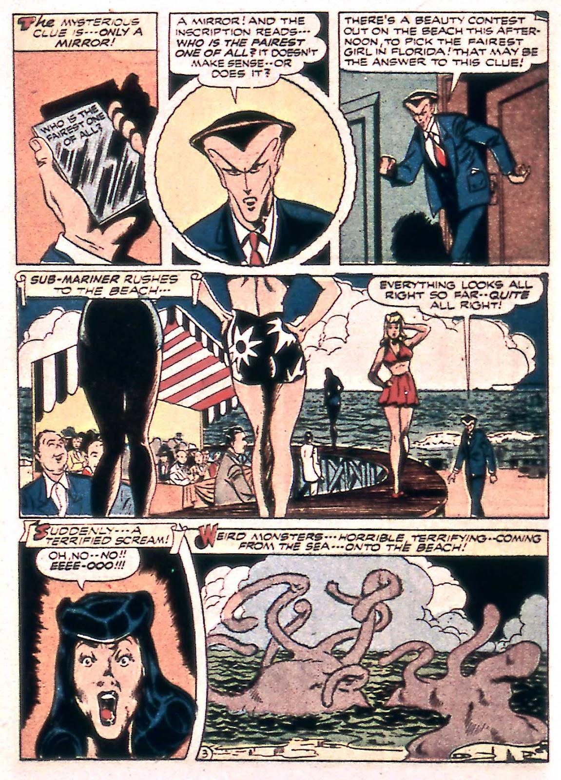 Sub-Mariner Comics Issue #14 #14 - English 32