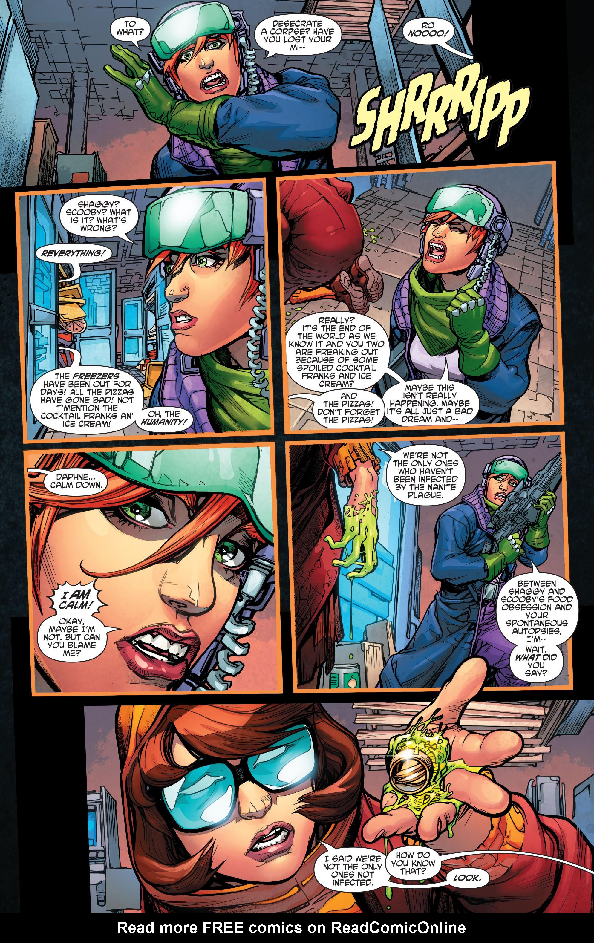 Read online Scooby Apocalypse comic -  Issue #4 - 23