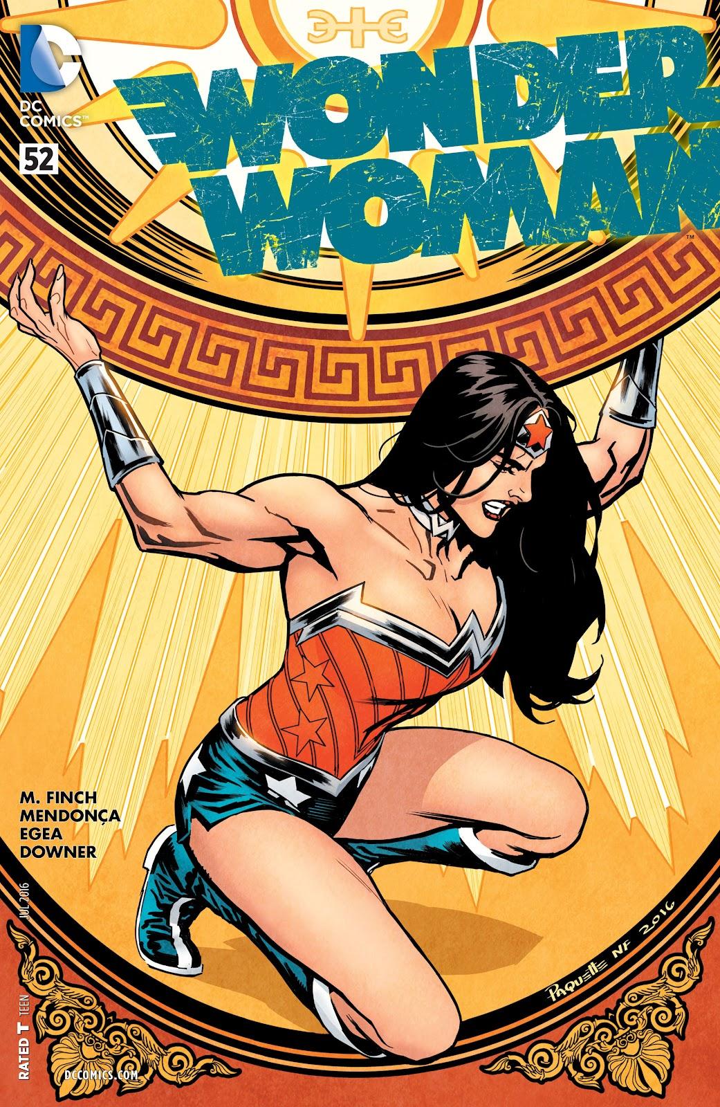 Wonder Woman (2011) Issue #52 #56 - English 1