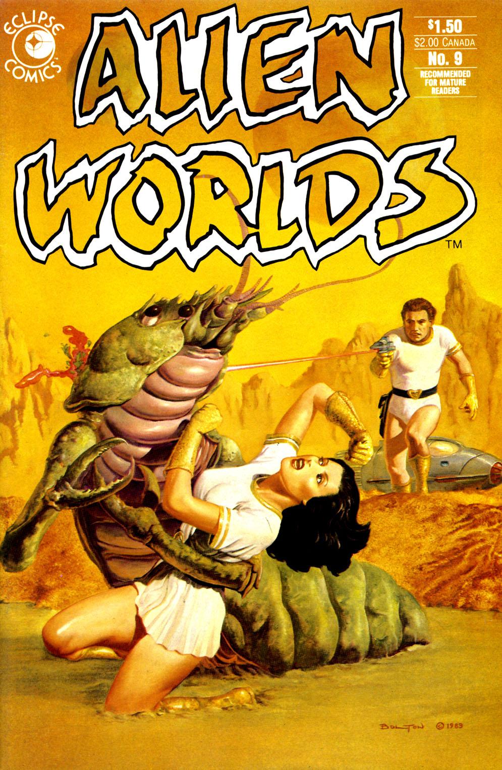 Alien Worlds 9 Page 1