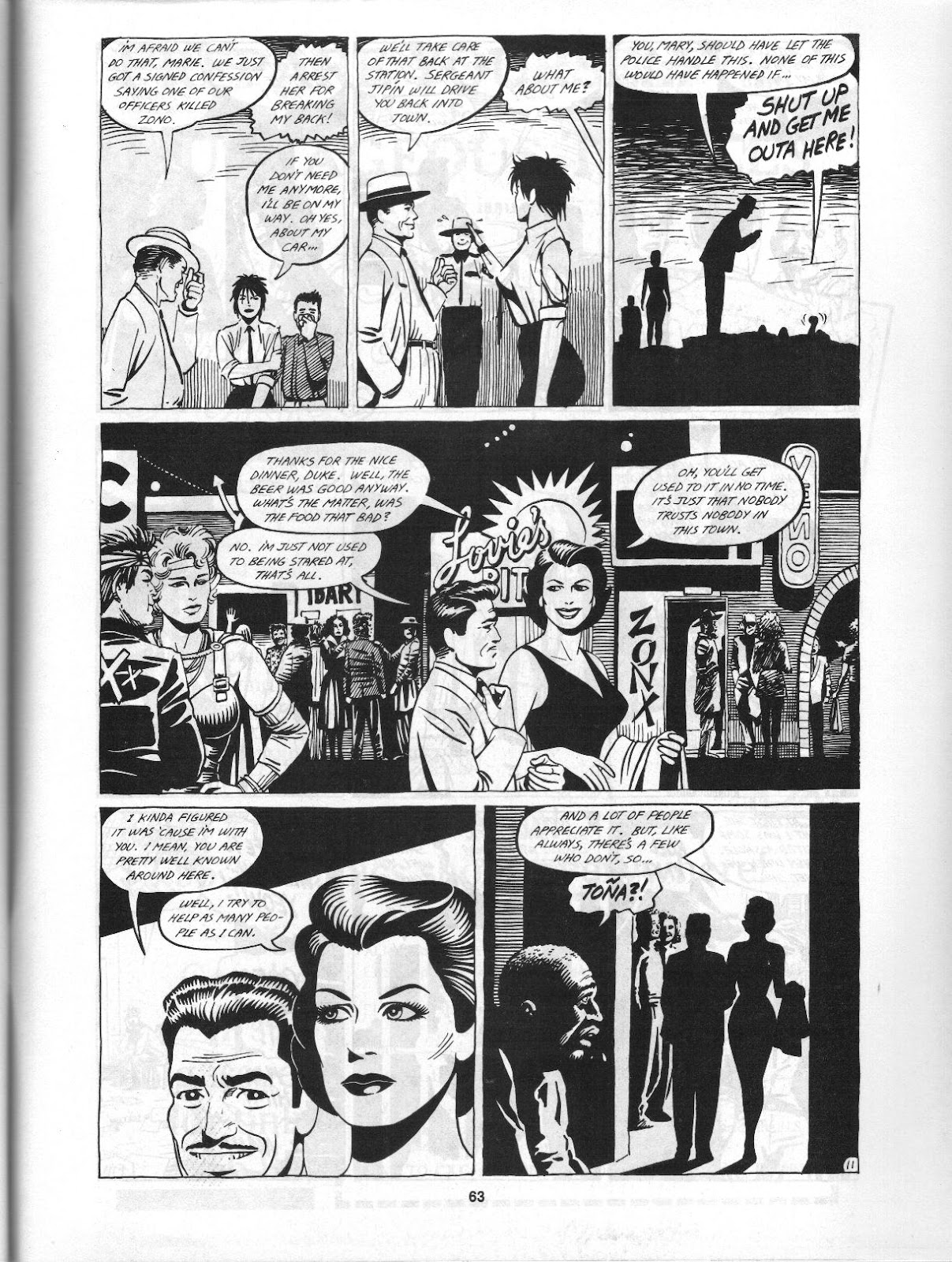 Love and Rockets (1982) Issue #3 #2 - English 65