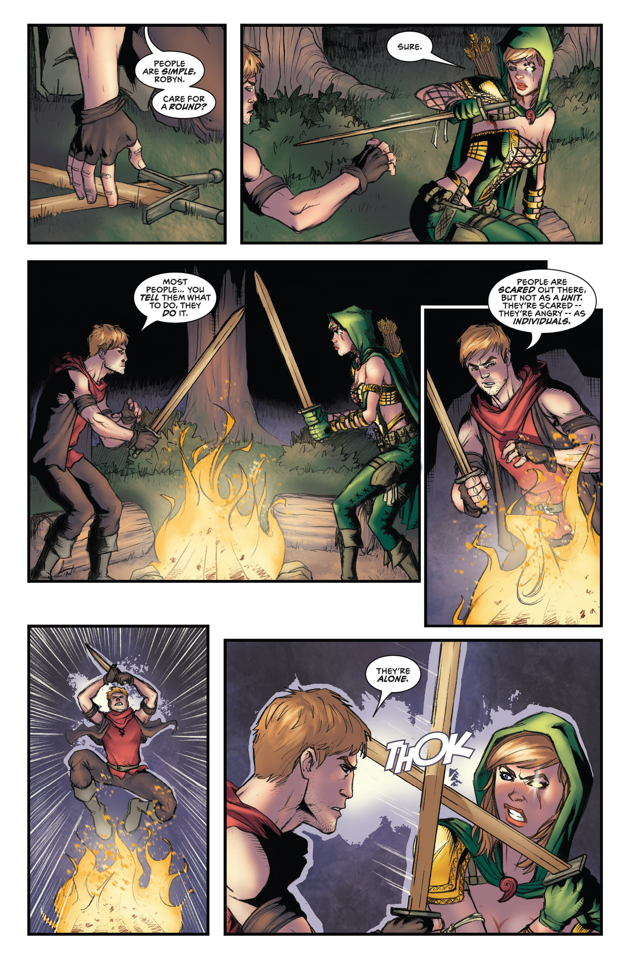 Read online Grimm Fairy Tales presents Robyn Hood (2012) comic -  Issue #3 - 15