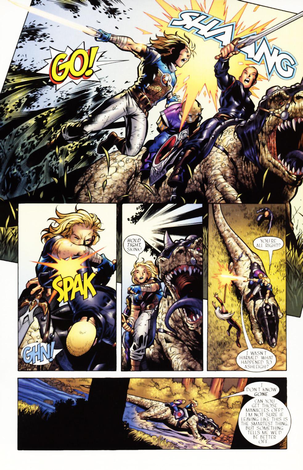 Read online Scion comic -  Issue #3 - 17